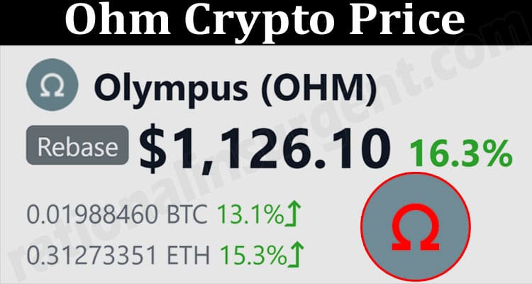 About General Information Ohm Crypto Price