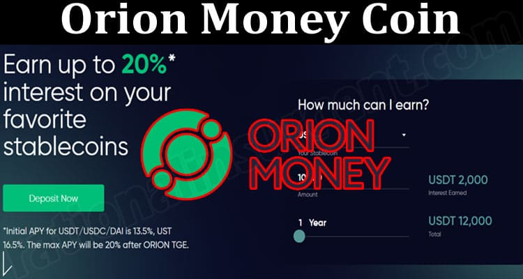 About General Information Orion Money Coin