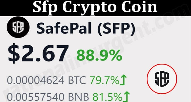 About General Information Sfp Crypto Coin