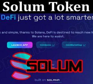 About General Information Solum Token