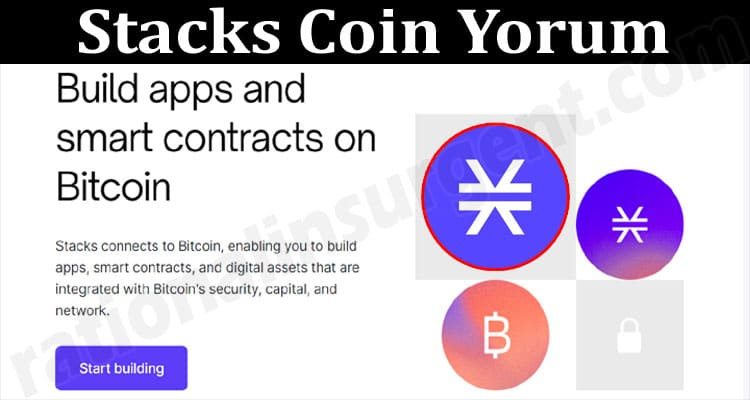 About General Information Stacks Coin Yorum