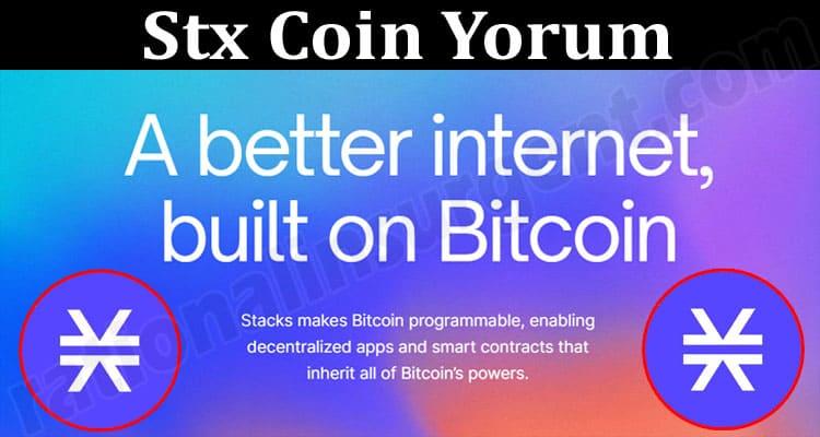 About General Information Stx Coin Yorum