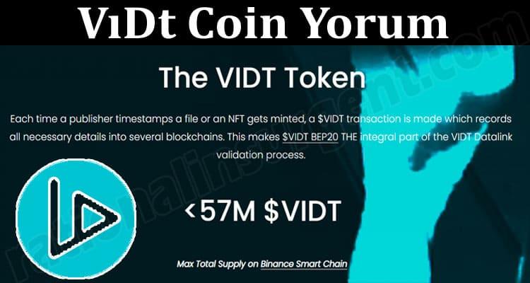About General Information VıDt Coin Yorum