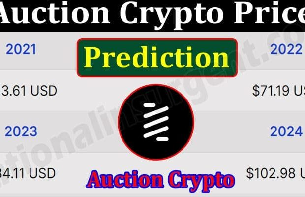 Aboutn General Information Auction Crypto Price Prediction